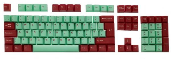 Tai-Hao Juke Box Double Shot ABS Cubic - Mint/Red ISO-UK